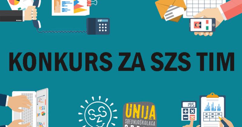 Konkurs za SzS tim Unije srednjoškolaca Srbije