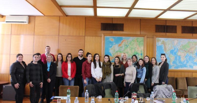 Akademci posetili Ministarstvo omladine i sporta