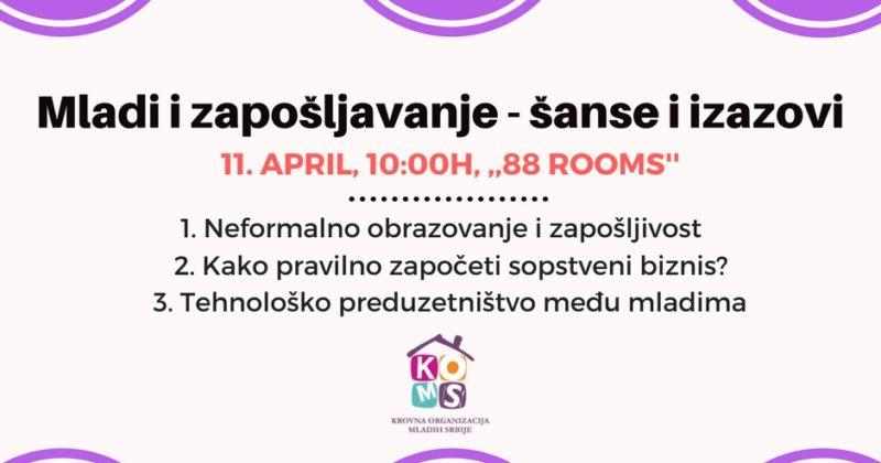 Prijavite se na konferenciju o zapošljavanju KOMS-a!