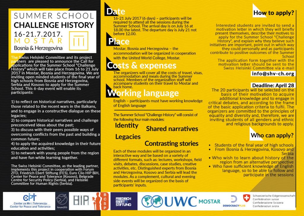 Leaflet_Summer School Challenge History (1)
