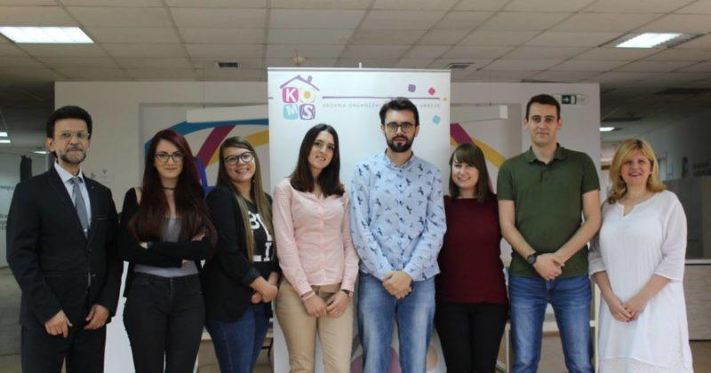 Omladinski delegati UN posetili KOMS