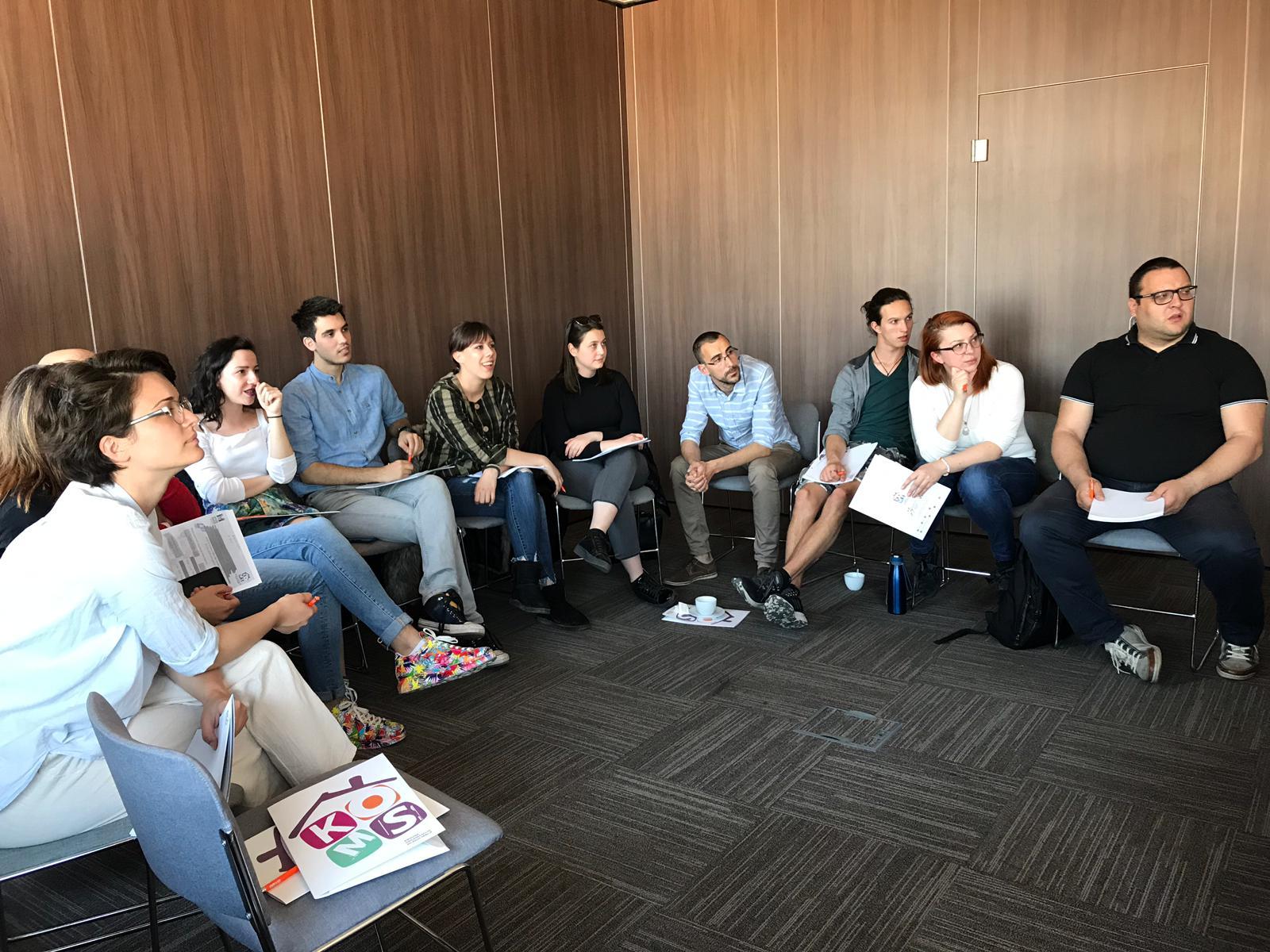 Obuka za saradnike i saradnice na projektu Young Media 3