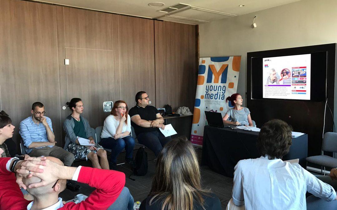 """Održana obuka za saradnike i saradnice na projektu """"Young Media"""""""