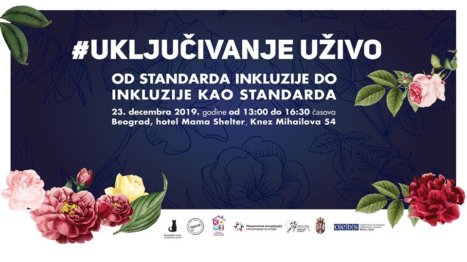 Poziv: Od standarda inkluzije do inkluzije kao standarda