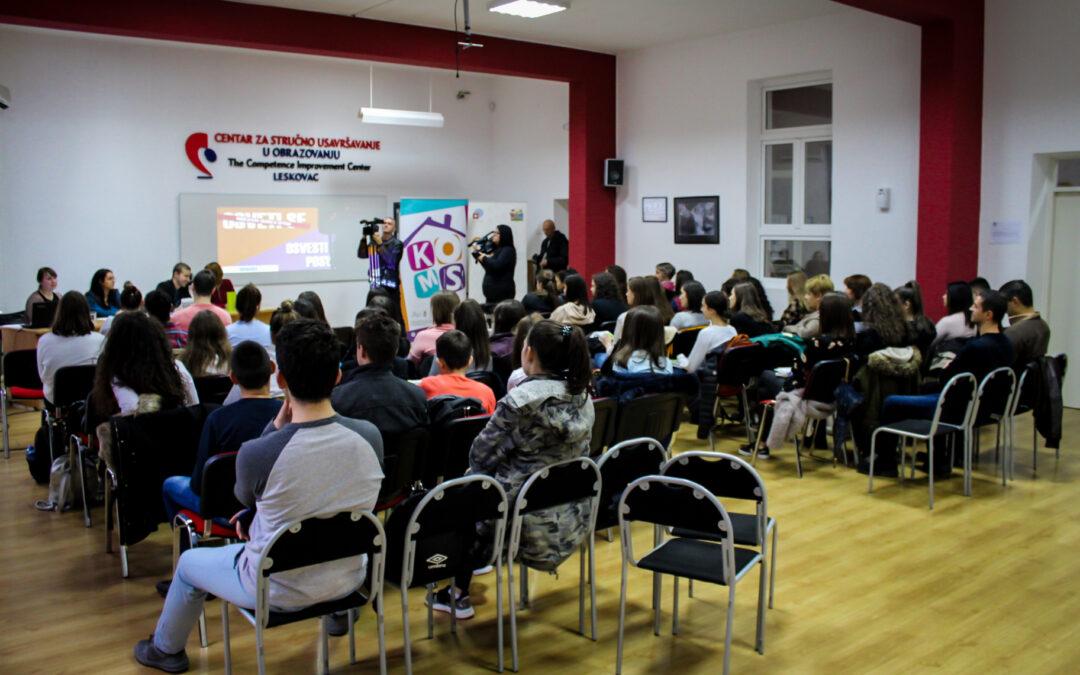 Mladi protiv zločina iz mržnje – debata u Leskovcu