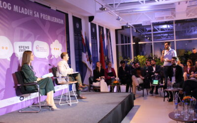 Prvi put u Srbiji održan dijalog mladih sa premijerkom (VIDEO)