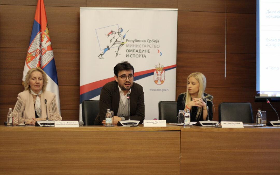 "Održana Omladinska konferencija ""MLADI ZA ODRŽIVI RAZVOJ"""