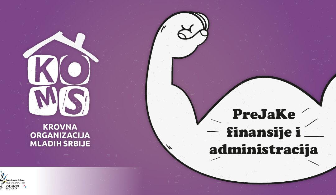 PreJaKe finansije i administracija – III modul PJK