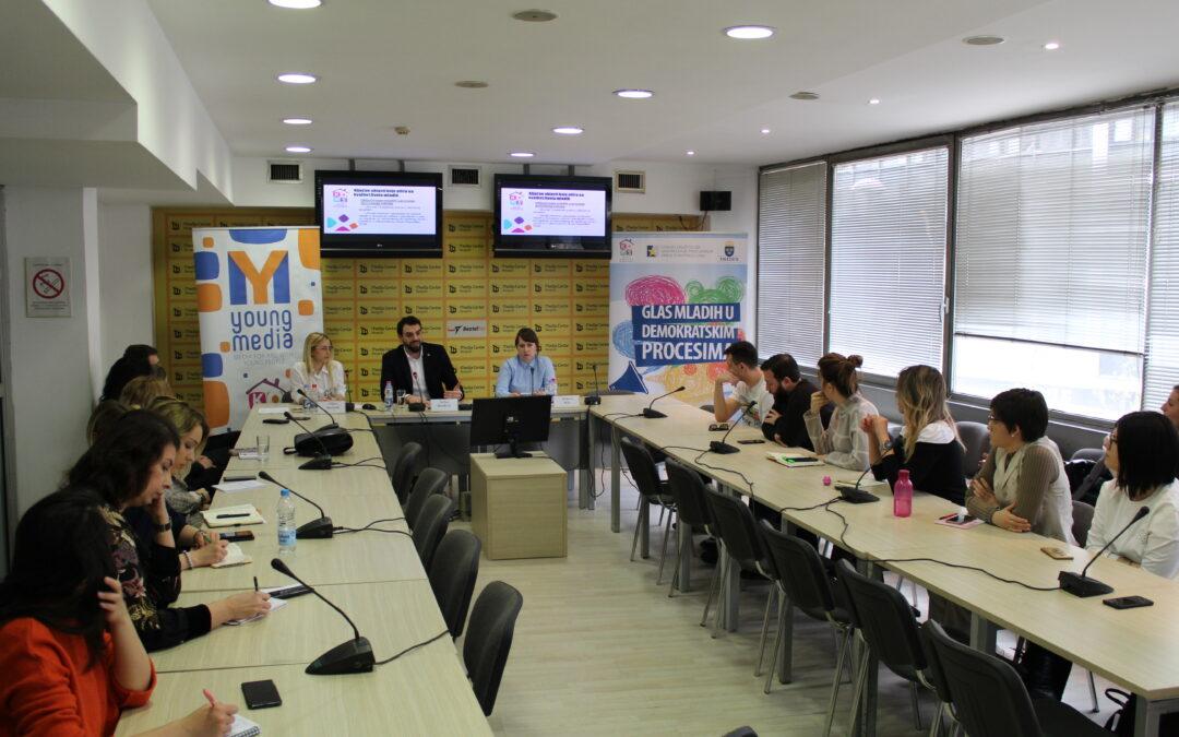 Održana konferencija za medije povodom Monitoringa izbora