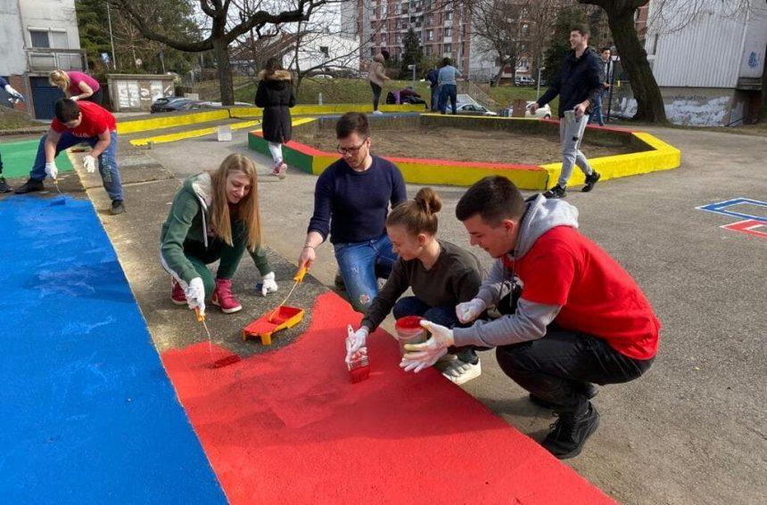 Project4: obnovljeno napušteno igralište u Obrenovcu
