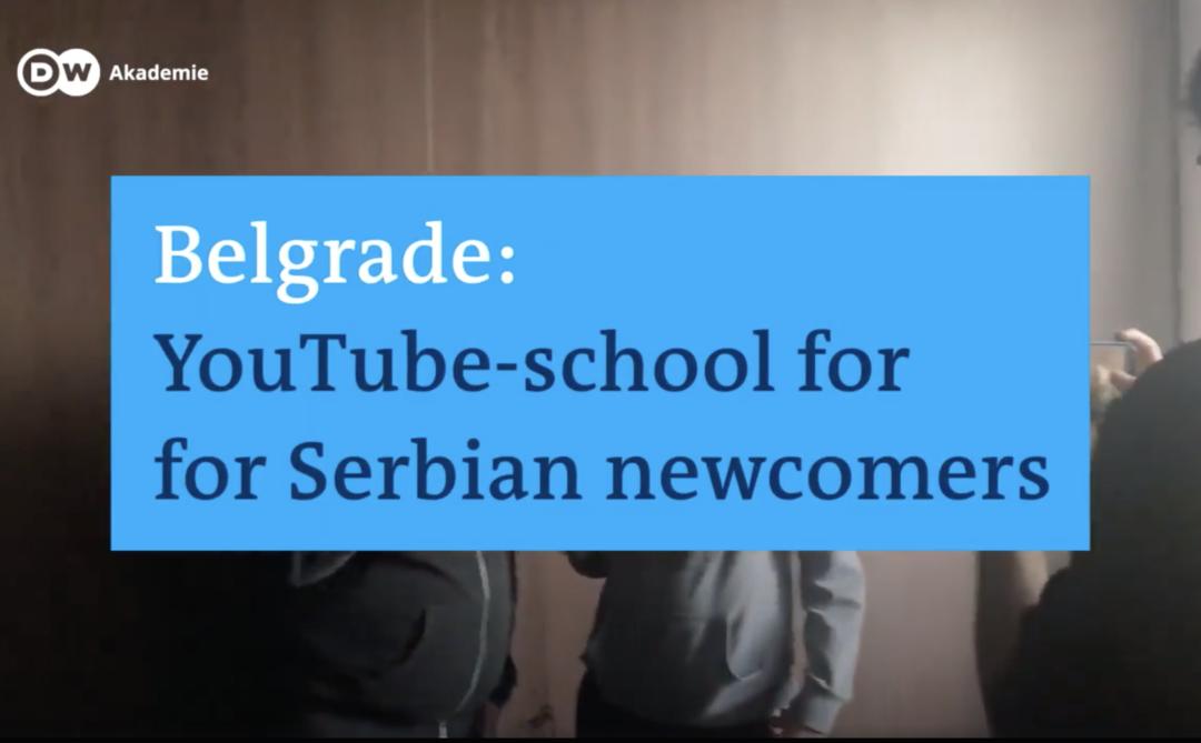 DW Akademie objavila video o prvoj Školi za YouTubere