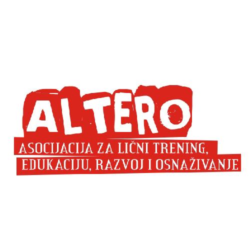 ALTERO – Asocijacija za lični trening, edukaciju, razvoj i osnaživanje