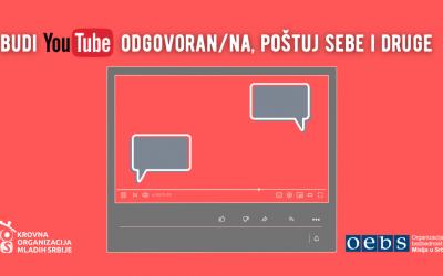 POZIV: Budi YouTube odgovoran/na, poštuj sebe i druge