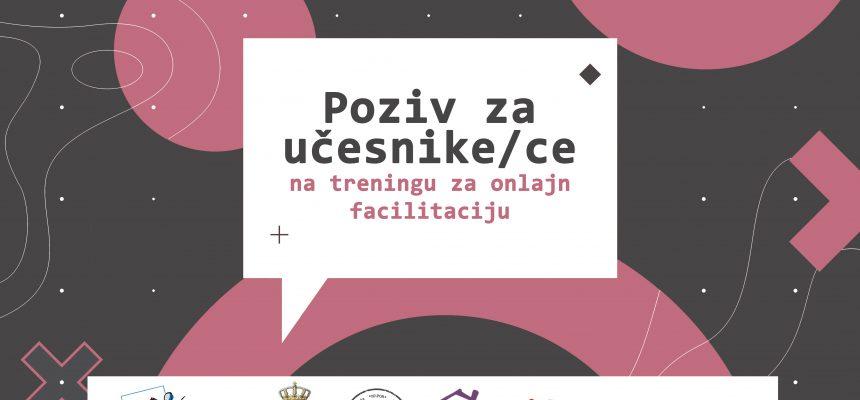 POZIV: Učesnici/ce treninga za online facilitaciju