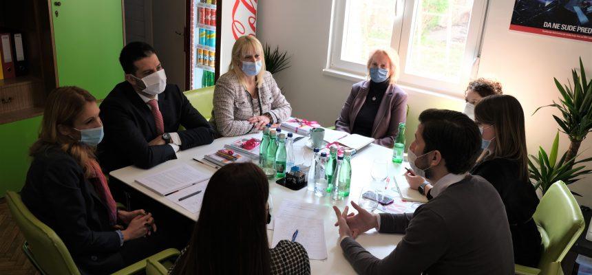 Sastanak ministra Udovičića i KOMS-a: Šta čeka mlade u narednom periodu?