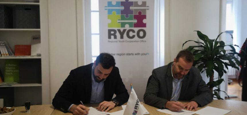 Potpisan Memorandum o saradnji Krovne organizacije mladih Srbije (KOMS) i Regionalne kancelarije za saradnju mladih (RYCO)