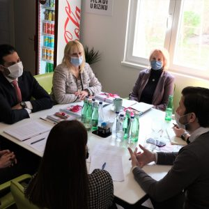 Meeting of the minister Udovičić and  KOMS: What awaits the Young in the coming period?