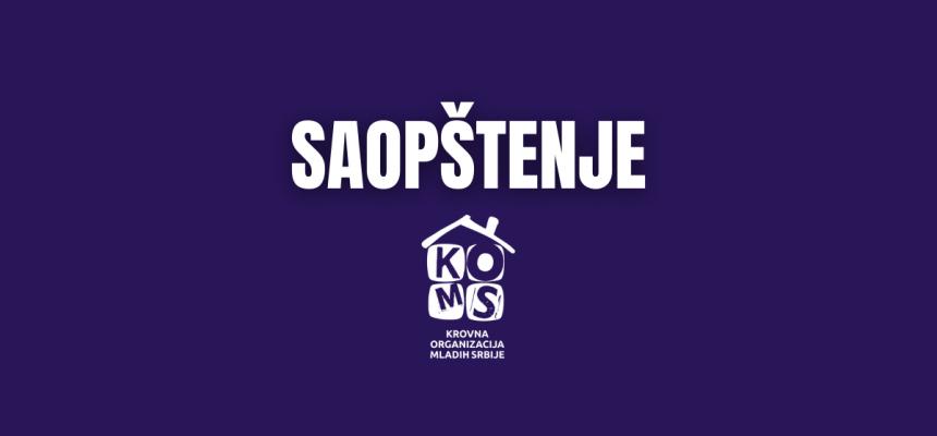 SAOPŠTENJE: Pružanje podrške inicijativi za usvajanje Zakona o registrovanim istopolnim zajednicama