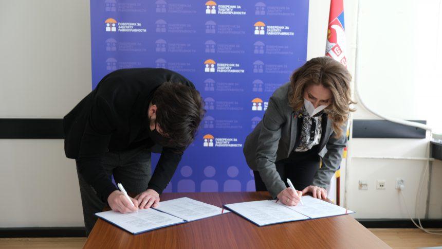 Potpisan Memorandum o saradnji sa Poverenicom za zaštitu ravnopravnosti