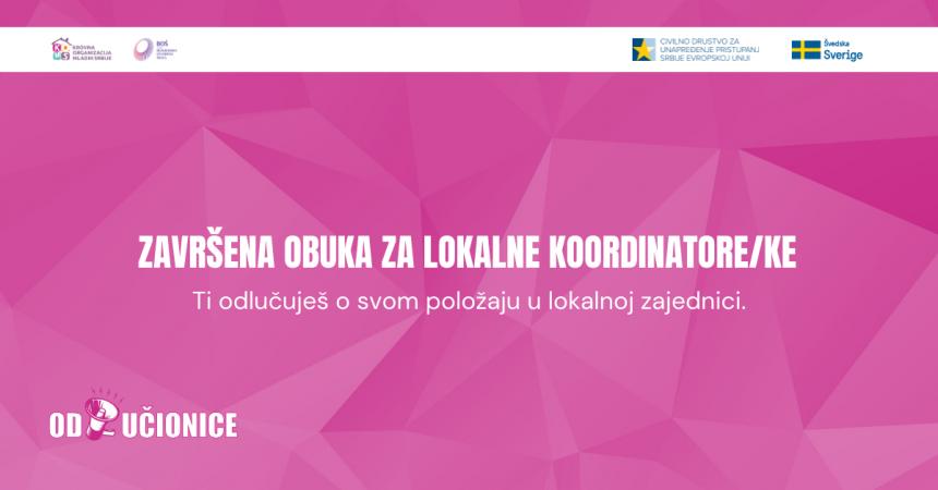 Odlučionice 2.0: Završena obuka za lokalne koordinatore/ke