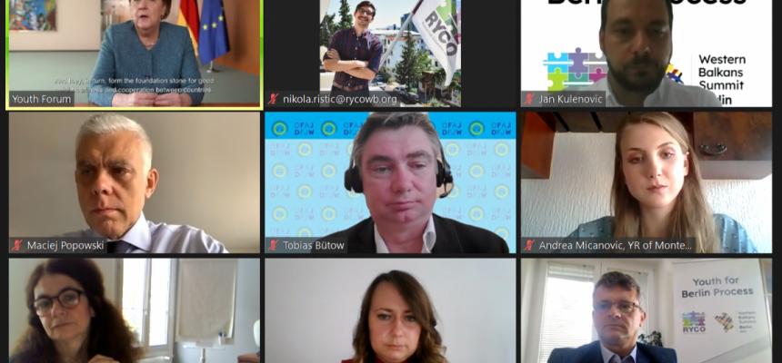 KOMS: Forum mladih Zapadnog Balkana 2021