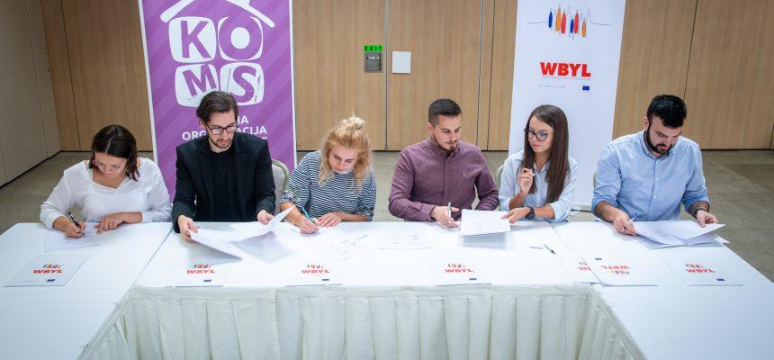 Strengthening Regional Youth Cooperation –  Memorandum of Understanding and Partnership between Umbrella Youth Organizations of the Western Balkans