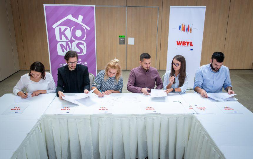 Jačamo saradnju mladih u regionu – Memorandum o saradnji i partnerstvu krovnih saveza mladih Zapadnog Balkana