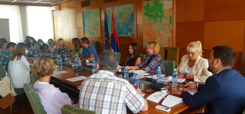 Radne grupe za izradu Nacrta zakona o izmenama i dopunama Zakona o mladima i Predloga Nacionalne strategije za mlade