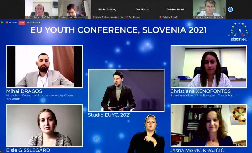 Sastanak Stalnog stručnog tima za EU dijalog sa mladima i učešće na Evropskoj omladinskoj konferenciji o EU dijalogu sa mladima