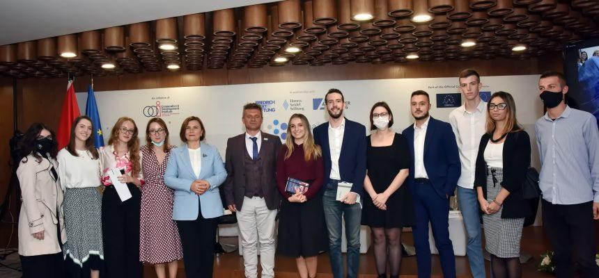 Predstavnice KOMS učestvovale na Tirana Connectivity Forumu 2021